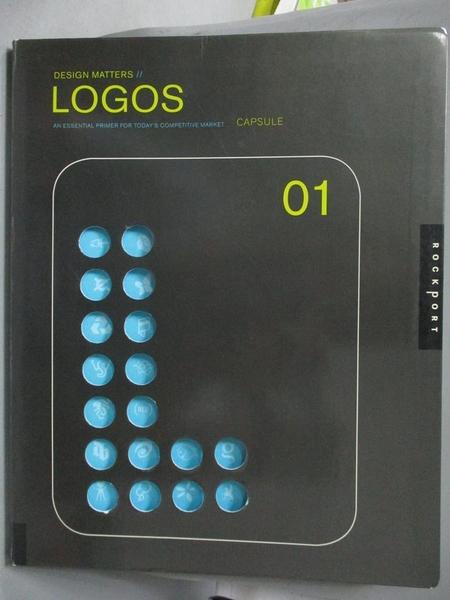 【書寶二手書T9/設計_XGY】Logos 01-an essential primer for …_Capsule