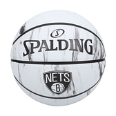 SPALDING NBA隊徽-籃網 #7籃球(室外 7號球 運動 斯伯丁≡體院≡ SPA84126