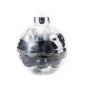 吊飾球27入組 經典黑/經典銀 6cm