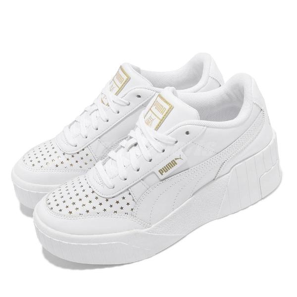 Puma 休閒鞋 Cali Wedge Charlotte 白 金 金標 厚底 女鞋 聯名款 【ACS】 37433701