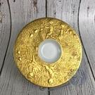 BRAND楓月 Rosenthal 羅森泰 魔笛系列小金盤 K24 浮雕 家居 瓷器 擺設 擺飾 擺件 飾物 裝飾品