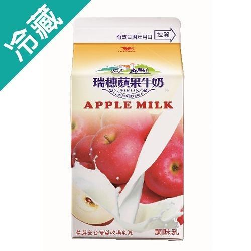 瑞穗蘋果調味乳400ml/瓶【愛買冷藏】