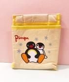 【震撼精品百貨】Pingu_企鵝家族~置物袋-黃#81780