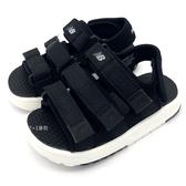 《7+1童鞋》中童 New Balance K3205B3P 熱賣爆款 韓國限定 透氣 休閒 運動涼鞋  9451   黑色