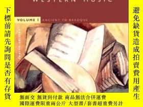 二手書博民逛書店The罕見Norton Anthology Of Western