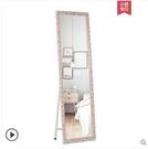 實木歐式穿衣鏡試衣鏡服裝店鏡子全身鏡落地鏡壁掛鏡(標準尺寸)
