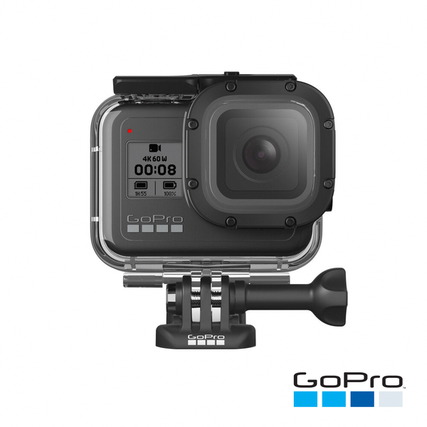 GoPro-HERO8 Black專用超強防護層+潛水保護殼(AJDIV-001)