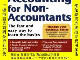 二手書博民逛書店Accounting罕見For Non-accountantsY256260 Wayne Label Sour