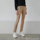 【GIORDANO】女裝中腰標準窄管休閒褲 - 80新撒哈拉