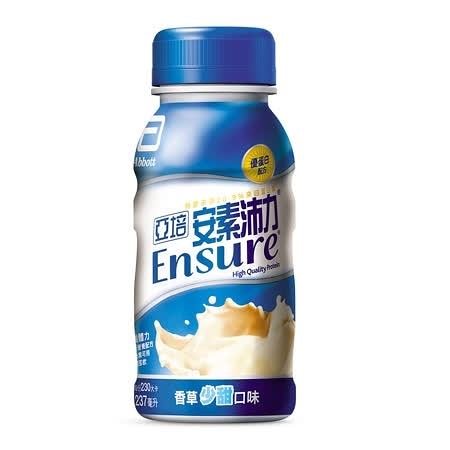 亞培-安素沛力香草少甜237ml 24瓶 [美十樂藥妝保健]