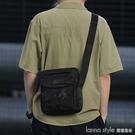男士包包單肩包斜背包運動小背包帆布多功能跨包休閒大容量男包潮 Lanna