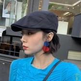 薄款透氣前進帽女時尚貝雷帽韓版潮復古鴨舌帽【雲木雜貨】