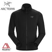 【ARC'TERYX 始祖鳥 男 Kyanite 刷毛外套《黑》】18942/保暖外套/刷毛外套