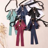 領結 校服學生職業女士商務黑色絲帶蝴蝶結 裝飾領花 領結