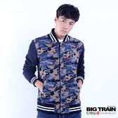 Big Train 迷彩棒球外套-藍色迷彩-B3019256(領劵再折)