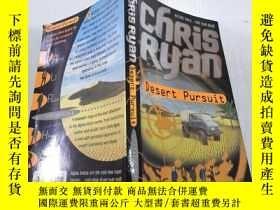 二手書博民逛書店Chris罕見Ryan Desert pursuit克裏斯瑞安沙漠追擊Y212829
