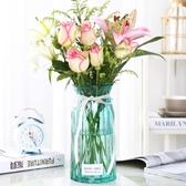 花瓶 裝飾 干花歐式擺件桌面道具北歐風水培鮮花家居擺設拍攝創意☌zakka