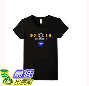 [106美國直購] 2017 NASA 太空總署日蝕 T shirt 女生款 NASA Total Solar Eclipse T-Shirt August 21 2017