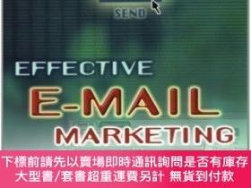 二手書博民逛書店Effective罕見E-mail MarketingY464532 Herschell Gordon Lew