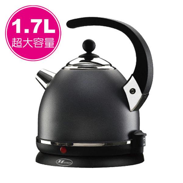 ★北方★1.7L多功能超快速電壺(優雅黑BK) AE-217