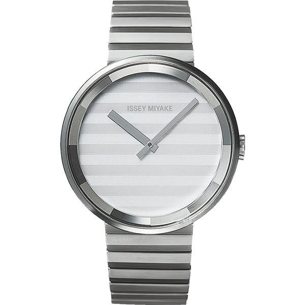 【僾瑪精品】ISSEY MIYAKE 三宅一生PLEASE時裝系列腕錶-灰/40mm/VJ20-0110S(SILAAA05Y)