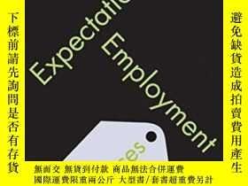 二手書博民逛書店Expectations,罕見Employment And PricesY364682 Roger E. A.
