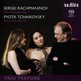 【停看聽音響唱片】【SACD】拉赫曼尼諾夫、柴可夫斯基:鋼琴三重奏