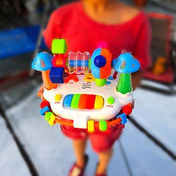 春季上新 寶寶鋼琴玩具嬰兒電子琴帶音樂的兒童玩具琴早教0-3歲1-6-18個月