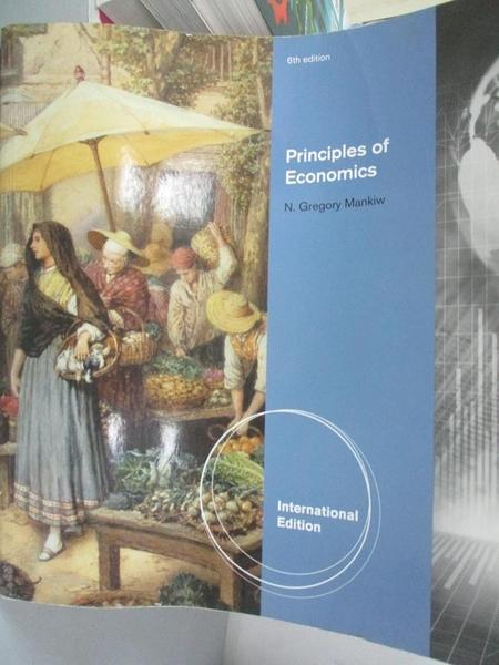 【書寶二手書T3/大學商學_ZAS】Principles of Economics_Mankiw