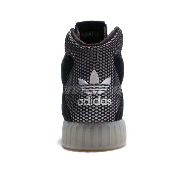 adidas 休閒鞋 Tubular Invader 2.0 W 黑 白 高筒 女鞋 麂皮 黑白 【PUMP306】 BB2068