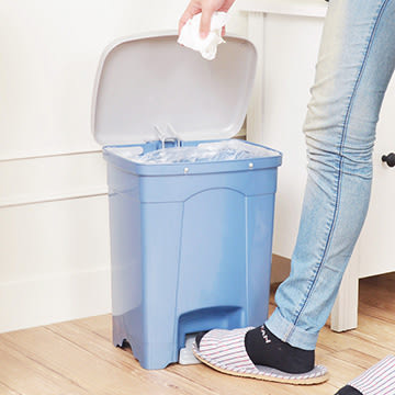 【nicegoods】吉利潔腳踏式垃圾桶15L (回收 分類 環保)