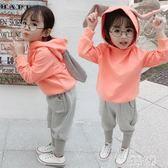 秋季運動女童套裝2019年新款3歲秋款女寶寶2嬰兒童裝0洋氣秋冬裝 LR12027【優品良鋪】