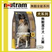 【年終回饋】*WANG*紐頓nutram《無穀全能-潔牙犬 火雞配方T23》2.72kg