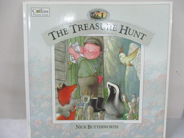 【書寶二手書T1/少年童書_D95】The Treasure Hunt_Nick Butterworth