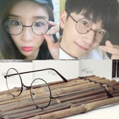 金屬圓形平光鏡正韓潮男眼鏡架 復古女眼鏡框學院風眼鏡自拍眼鏡