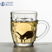 泰國UNION 凹凸馬克杯 287ml 玻璃杯 飲料杯 水杯 啤酒杯