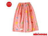 MIKI HOUSE  日本製舞颯兔蝴蝶結浴巾(粉紅)