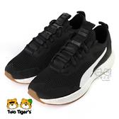 Puma NRGY Neko Skim Jr 黑色 鞋帶款 運動鞋 大童鞋 NO.R5026