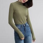 毛衣針織衫女套頭韓版新款上衣長袖修身