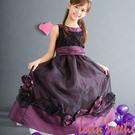 【Lovin' Sweetii】精緻甜心小公主童洋裝限量款-紫色