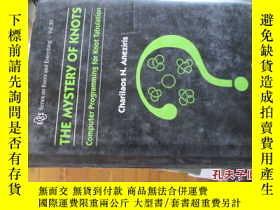 二手書博民逛書店c0013精裝the罕見mystery of knots(com