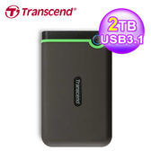 【Transcend 創見】2TB Type-C 專用 2.5吋防震行動硬碟 TS2TSJ25MC