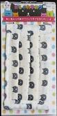 日本製 今治產 生地使用 純棉 立體 抗菌加工 大人用 黑貓圖案 特價