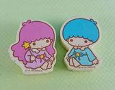 【震撼  】Little Twin Stars KiKi LaLa 雙子星小天使橡皮擦_2