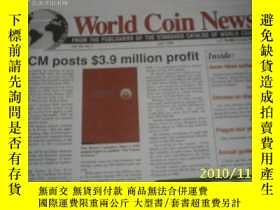 二手書博民逛書店World罕見Coin News(Vol.25, 1998年第1