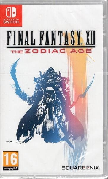 【玩樂小熊】歐美封面 Switch遊戲NS 太空戰士12 Final Fantasy XII 黃道時代 最終幻想 中文版