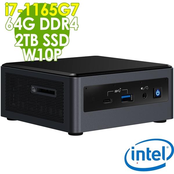 【現貨】Intel 無線迷你電腦 NUC i7-1165G7/64G/2TSSD/W10P