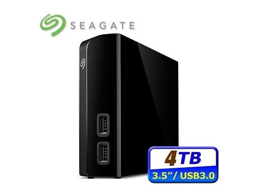新竹【超人3C】現貨+預購*Seagate Backup Plus Hub 4TB 3.5吋外接硬碟 STEL4000300