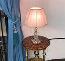 110V-220V 摩菱粉色檯燈少女心臥室床頭燈創意浪漫公主粉--不送光源