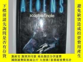 二手書博民逛書店原版意大利語小說罕見Aliens: scontro finale